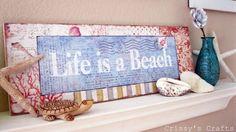 Artesanía de Crissy: La vida es una playa
