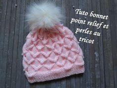 Crochet hat patterns beanie New Ideas Baby Knitting Patterns, Baby Hats Knitting, Knitting For Kids, Easy Knitting, Knitted Hats Kids, Knitted Baby Blankets, Kids Hats, Crochet Baby, Knit Crochet