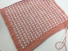 Ravelry: Two Color Textured Knit Hand Towel pattern by Mary Beth Temple