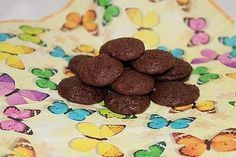 Chewy Chocolate Creamcheese Cookies von alina1st | Chefkoch.de Cereal, Cookies, Chocolate, Breakfast, Recipes, Food, Cooking, Biscuits, Food Portions