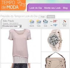 """Novo site da Climatempo ajuda usuária a montar """"looks"""" com base na previsão do tempo - Web Expo Forum 2013"""