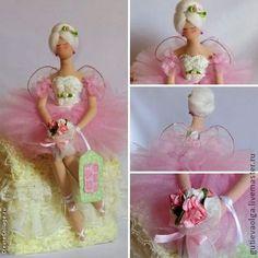 Коллекционные куклы ручной работы. Ярмарка Мастеров - ручная работа Тряпиенса. Балерина. Handmade.