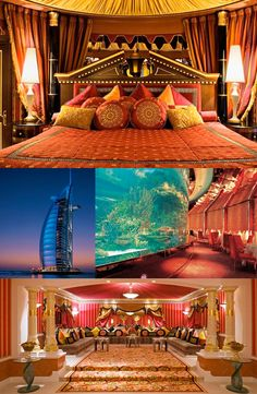 burj-al-arab-hotel, love the pillows menu Zzzz...!