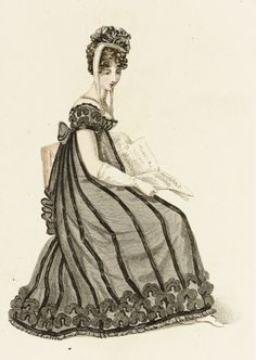 Fashion Plate (Evening Dress) | LACMA Collections 1819
