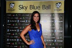 Sky Blue Ball Red Carpet Arrivals - Tuesday 9th April 2013. Mel Mclaughlin.