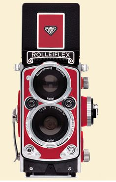 Very cool digital camera from Rolleiflex, awesome classic styling. The MiniDigi AF is a three-inch high, fully functional digicam replica of the original classic twin reflex camera Antique Cameras, Old Cameras, Vintage Cameras, Reflex Camera, Camera Gear, Film Camera, 35mm Film, Classic Camera, Photography Camera