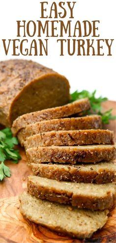 Delicious Vegan Turkey That's Easy to Make!