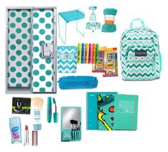 """#2 Locker"" by asli-okyay on Polyvore featuring interior, interiors, interior design, ev, home decor, interior decorating, C.R. Gibson, Happy Jackson, BIC ve Sharpie"
