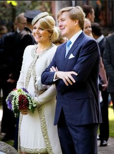 King Willem-Alexander and Queen Maxima of The Netherlands visit the province of Groningen during their tour through the Netherlands as new King and Queen 28 May 2013