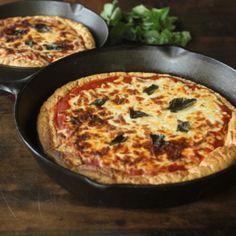 Maria Mind Body Health | Protein Deep Dish Pizza - Maria Mind Body Health