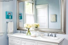 How to Design a Beautiful Blue Bathroom