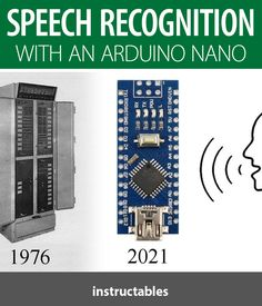 Peter Balch's project about speech recognition using an Arduino Nano. #Instructables #electronics #technology