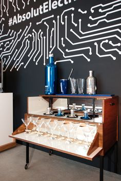 Product Launch ABSOLUT Electrik Limited Edition, Vienna #absolutelectrik Vienna, Product Launch, Loft, Furniture, Home Decor, Homemade Home Decor, Lofts, Home Furnishings, Decoration Home