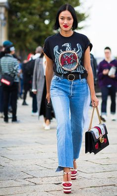 Denim trends more at lightning speed, so we're here to report on the current style to ditch, the one to keep, and the one to buy. Get the info here.