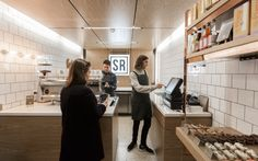 'A little more Standing Room'. Alumnus Tom Kelly opens new Standing Room cafe in Melbourne CBD's Royal Arcade. #UOMAlumni