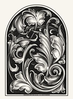 php × pixels – – Woodworking 2020 Leather Carving, Leather Art, Monogram Stencil, Azulejos Art Nouveau, Filigree Tattoo, Ornament Drawing, Floral Tattoo Design, Tattoo Project, Metal Engraving