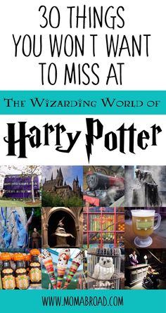 30 Things You Won't Want to Miss at the Wizarding World of Harry Potter