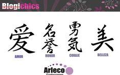 Letras Chinas para Tatuajes: Diseños de Sabiduria