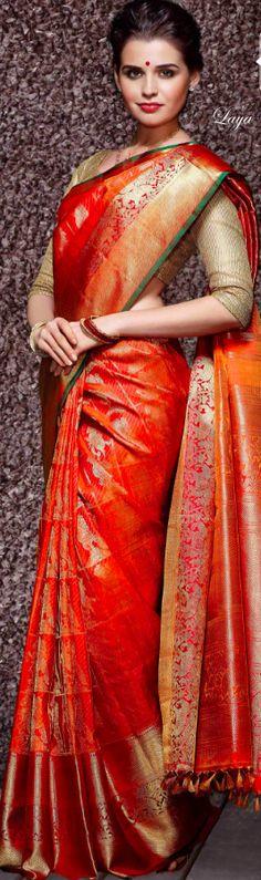 Ideas Bridal Lengha Red Punjabi For 2019 Indian Silk Sarees, Indian Bridal Lehenga, Pakistani Bridal, Indian Dresses, Indian Outfits, Mexican Bridal Showers, Badgley Mischka Bridal, India Fashion, Pakistan Fashion