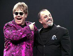 Billy Joel & Elton John.