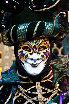 Venice Carnival.  Posted for educational purposes only. No copyright infringement intended.