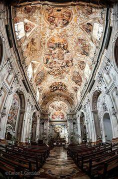 Iglesia de San Benedetto. Catania. Italia