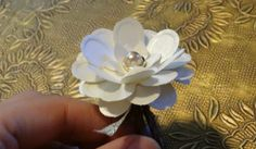 So proud of my paper flower napkin rings! Wanted to share how I made them... « Weddingbee Boards
