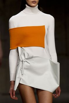J.W. Anderson Fall 2013 WHAT'S WITH THE PATCH OVER THE ARM.  DOESN'T MAKE SENSE TO ME.