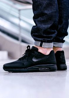 reputable site 1c75d 20fba AM1 Ultra Essential Black  nike  airmax Tenis, Zapatillas, Venta Nike Air  Max