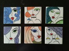 MK ÇİNİ 10x10 dekoratif portreler