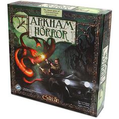 Arkham Horror - a board game of H.P. Lovecraft's crazy world.  You can try to kill Cthulhu.  ...try.