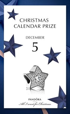 Stars is a need this season - naturally also our 5th of December prize #PANDORAcharm #PANDORAchristmascontest