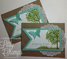 The Lady & Her Stamps: A Sheltering Tree for A Friend