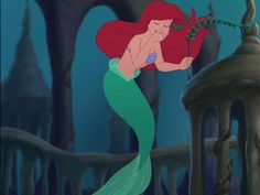 """I got: Ariel! Which Of King Triton's Daughters Are You Most Like? Ariel is the youngest sister and the most well-known. Ariel's name means """"lion of God"""". Ariel is curious and adventurous, and enjoys the little things in life. She sets high goals, and does whatever it takes to reach them. She is confident in her own skin, and just a little bit rebellious. She has a strong love for those around her and is very selfless."""