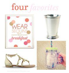 Mason...Like The Jar Blog: Four Favorites