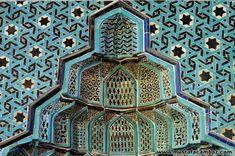 Konya - sahip ata camii mihrab detayı