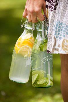 Eistee und Limonade selber herstellen - Grundanleitung