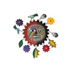 NOVICA Day of the Dead Ceramic Wall Art ($50) ❤ liked on Polyvore featuring home, home decor, wall art, decor, mexico, wall accents, wall decor, novica, handmade wall art and novica home decor