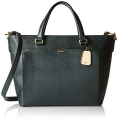Tumi Sinclair Camila Tote Messenger Bag, Pine * You can get more details at