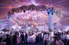 Beautiful Wedding Reception | http://brideandbreakfast.ph/2015/06/16/toni-gonzaga-paul-soriano-wedding-photos-reception/ | Photo: Metrophoto