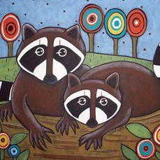 by Karla Gerard Beginning Painting Ideas, Karla Gerard, Punch Needle Kits, Notebook Art, Rug Hooking, Folk Art, Primitive, Original Paintings, Fictional Characters