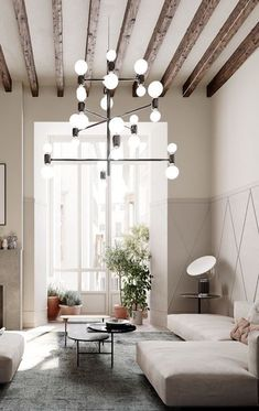 Find out why modern living room design is the way to go! A living room design to make any living room decor ideas be the brightest of them all. Interior Simple, Loft Interior, Interior Styling, Interior Design, Living Room Designs, Living Room Decor, Living Spaces, Bedroom Decor, Bedroom Ideas
