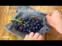 Etee Reusable Food Wraps - Preserve Your Food - YouTube