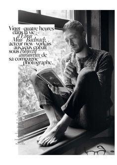 Actor Ebon Moss Bachrach Roams the Streets for Vogue Hommes International