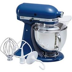 KitchenAid Artisan Series Blue Willow Countertop Stand Mixer at Lowe's. The KitchenAid Artisan Series Tilt-Back Head Stand Mixer, in blue willow, is incredibly versatile and more than a mixer. Artisan Mixer, Kitchenaid Artisan Stand Mixer, Alma Cupcakes, Kitchenaid Standmixer, Stainless Steel Bowl, Head Stand, Kitchen Aid Mixer, Kitchen Cupboard, Townhouse