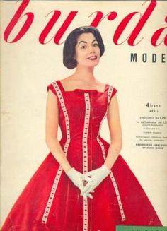 Burda magazine archives- 1950 onwards