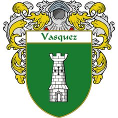 Vasquez Coat of Arms  http://spanishcoatofarms.com/ has a wide variety of products with your Hispanic surname with your coat of arms/family crest, flags and national symbols from Mexico, Peurto Rico, Cuba and many more available upon request