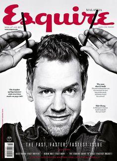 Esquire : Sebastian Vettel: