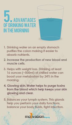 The meaning of urine color juice vitamins and water 5 advantages of drinking water in the morning healthy fandeluxe Image collections