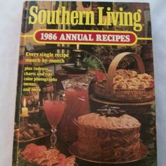 Southern Living 1986 Annual Recipes 1986 HC (21415-202) vintage cookbooks $2.50